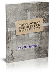 Sticky Content Marketing Manifesto